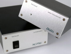 Trichord Research Ltd. Diablo phono stage with Never Connected PSU